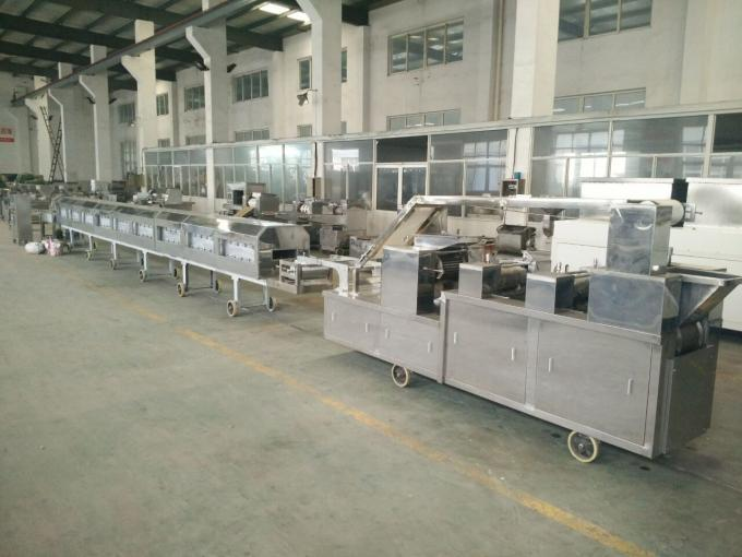 35kw Biscuit Processing Line , 380v/50Hz Automatic Biscuit Machine PLC Control