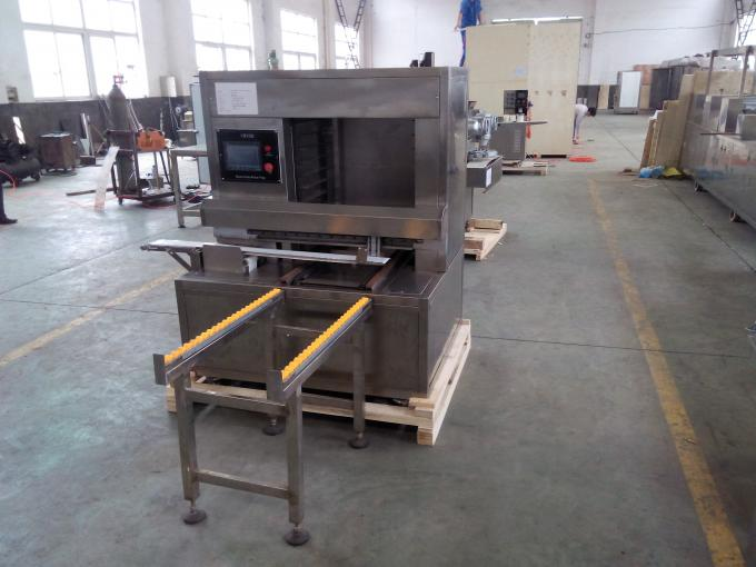 6kw PLC Control Moon Cake Production Line Automatic Trays Arranging 20-300g Weight Range
