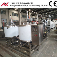 China 380V Electric Chocolate Candy Making Equipment 19400*1100*1800mm Dimension supplier