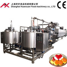 China Fully Automatic Soft Candy Machine 100~150kg/H Production Capacity supplier
