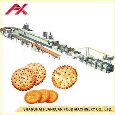 Small Biscuit Making Machine , Automatic Biscuit Production Line One Year Warranty
