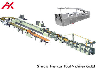 Automatic Biscuit Production Line , Bakery Biscuit Making Machine With High Efficiency