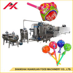 China Lollipop Hard Candy Depositing Line , Hard Candy Making Machine 150kgs/H Capacity supplier