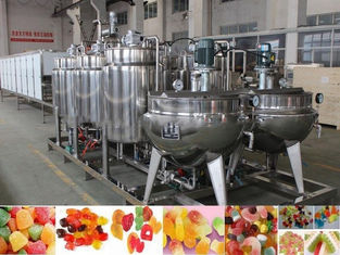 PLC Control Jelly Candy Machine 150kg/H Advanced Technology Long Machine Life