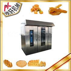 China 380V Electric Pizza Bakery Rotary Oven 100-200kg/H Capacity With High Heating Efficiency supplier