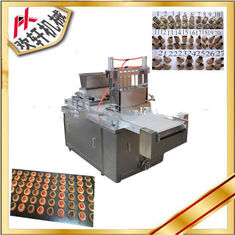 China Multipurpose Cookie Depositor Machine With Automatic Filling Jam Function supplier