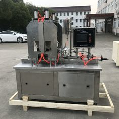 China Compact Structure Candy Making Machine / Toffee Production Line 25-50 Kg/H supplier