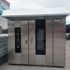 Square Shaped Rotary Baking Oven , Commercial Rotary Oven 2100*1600*2500mm