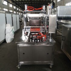 Small Scale Gummy Candy Manufacturing Equipment , Lollipop Making Machine