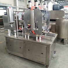 Linear Type Candy Depositing Machine / Commercial Fudge Making Equipment