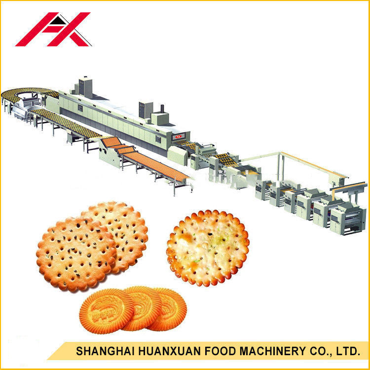 220V/380V Biscuit Making Equipment With One Year Warranty Stainless Steel Material