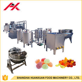 China Fully Automatic Candy Machine , Candy Manufacturing Equipment 100-150kg/H Capacity distributor