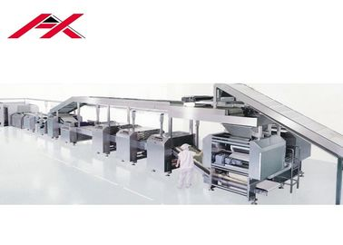 China Highly Automatic Biscuit Making Equipment Full Automatic Line CE Certificated distributor