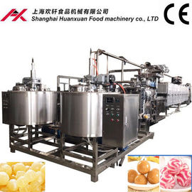 China 380V Toffee Candy Making Machine , Soft Toffee Production Line PLC Control distributor