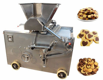 China Durable Cookie Depositor Machine For Making Double Color Cookie factory
