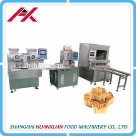 China Commercial Chinese Mooncake Machine , Automatic Forming Machine 25-80 Single / Minute distributor