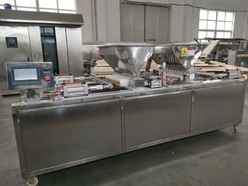 China 400-500kg/H Capacity 0.75kw Bakery Cake Machine For Small Cup Cake distributor
