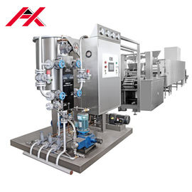 Durable Hard Candy Production Line , Taffy Making Equipment Computer Process Control
